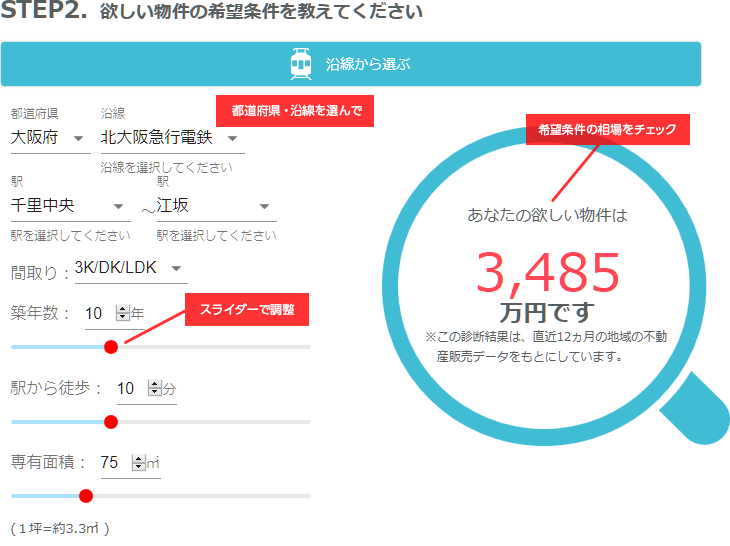How Much!の使い方イメージ